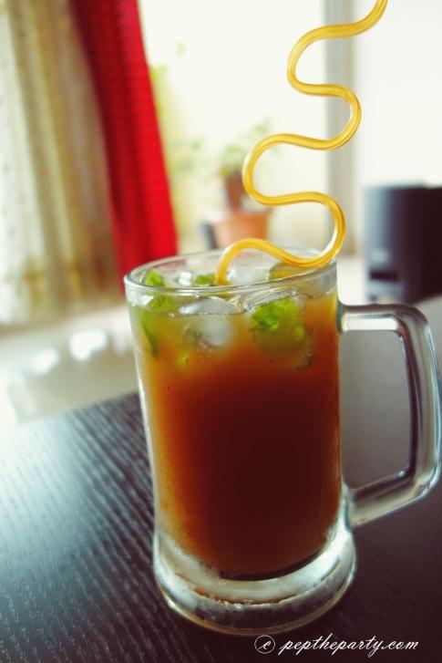 mango ice tea